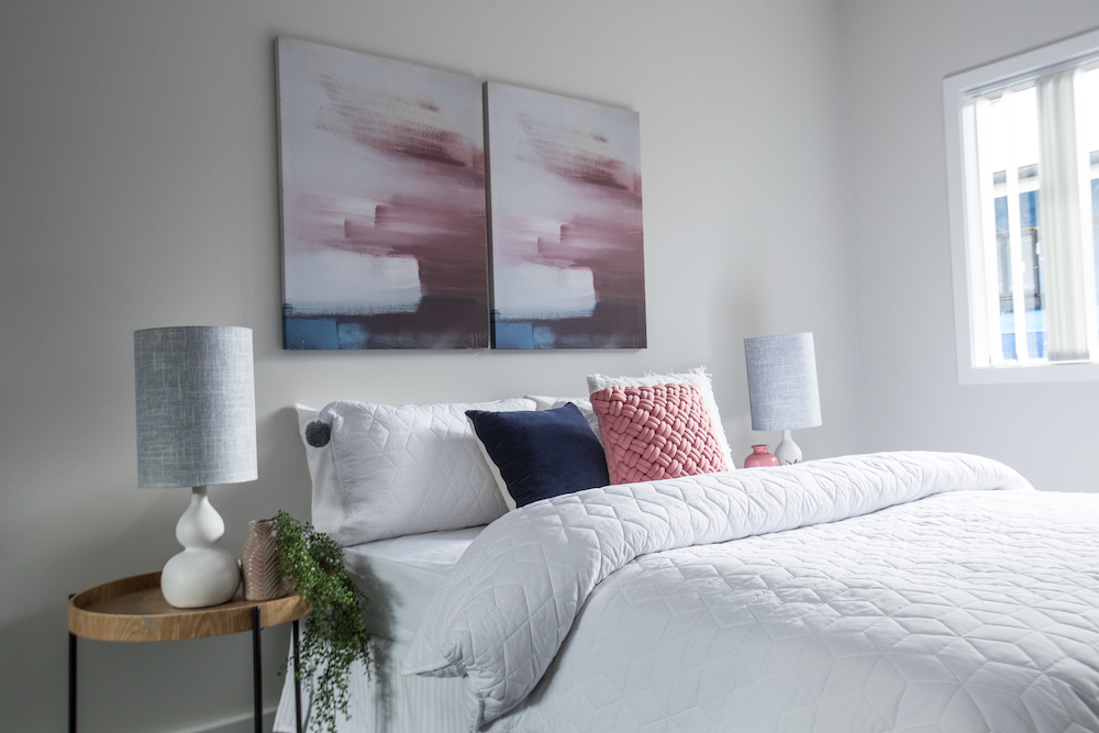 First Display Home Opens